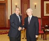 Nguyên Phu Trong reçoit des dirigeants cambodgiens