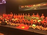 Les Vietnamiens brillent à lIMC 2017