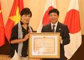 Agent orange : une ami proche des victimes vietnamiennes à l'honneur