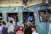 Collision de trains en Égypte : le bilan s'alourdit à 40 morts