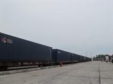 Guangzhou-Hanoï : le train à conteneurs international commence sa période dessai
