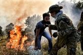 Accalmie sur le front des incendies en Grèce