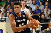Basket : les Français surclassent le Monténégro en préparation à l'Euro