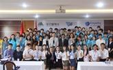 Programme déchange entre étudiants du Vietnam et de la République de Corée