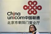 China Unicom s'envole en Bourse après avoir confirmé la vente de 9,9 mds EUR de parts
