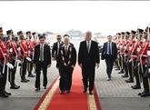 Nguyên Phu Trong entame sa visite officielle en Indonésie