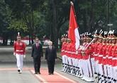 Indonésie : cérémonie daccueil officielle en lhonneur du chef du PCV