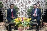 Laos : une délégation du Bureau du Comité central du PPRL à Hô Chi Minh-Ville