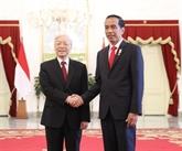 Vietnam - Indonésie : entretien Nguyên Phu Trong - Joko Widodo