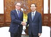 Le président vietnamien reçoit l'ambassadeur d'Autriche à Hanoï