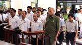 Jugement en première instance de cadres de Dông Tâm