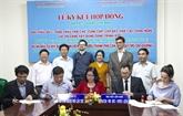 Signature du contrat de construction de lHôpital doncologie de Cân Tho