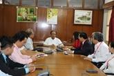 Une délégation du peuple vietnamien en Inde