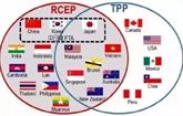 Le RCEP repoussé ultérieurement par les pays dAsie-Pacifique