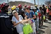 Irma : Macron reparti, le chantier de la reconstruction reste entier