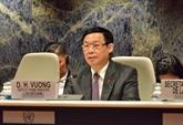 Le Vietnam soutient l'agenda de l'UNCTAD