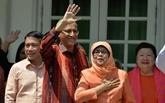 Halimah Yacob prête serment et devient la première présidente de Singapour