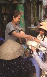 Un bol de bun bo Huê à 1.000 dôngs à Hanoï
