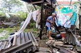 Soutiens des Hanoïens en faveur des sinistrés du typhon Doksuri