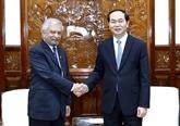 """Le président de la République """"très optimiste"""" des liens Vietnam - ONU"""