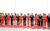 Mise en service dun des plus longs ponts maritimes en Asie du Sud-Est à Hai Phong