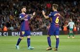 Le Barça écrase Eibar, Messi puissance 4