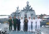 Deux navire de la Marine indienne à Hai Phong