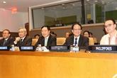 Le vice-Premier ministrePham Binh Minh à l'AMM en marge de la 72e Assemblée générale de l'ONU