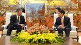 Renforcer l'échange commercial entre Hanoï et les entreprises britanniques