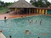 Une journée à la source d'eau thermale de Quang Ninh
