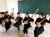 La musique ethnique entre dans des salles de classe à Quang Ninh