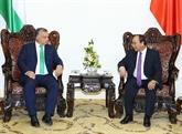 Le PM hongrois Viktor Orban termine sa visite officielle au Vietnam