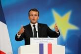 Macron exhorte à laudace pour réveiller lEurope
