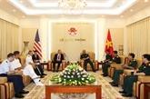 Vietnam et États-Unis coopèrent dans le règlement des conséquences de la guerre