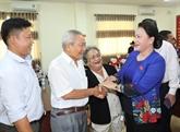 La présidente de lAssemblée nationale rencontre lélectorat de Cân Tho
