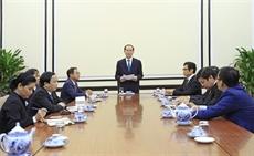 APEC : Trân Dai Quang travaille avec des représentants du Conseil consultatif des entreprises