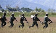 Un exercice américano-philippin de libération dotages au nord de Manille
