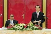 Le Vietnam affirme ses liens étroits avec l'Égypte