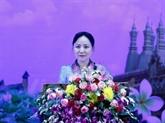 L'Union des femmes lao loue les liens Laos - Vietnam