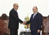 Le Premier ministre salue les contributions de l'ambassadeur cubain