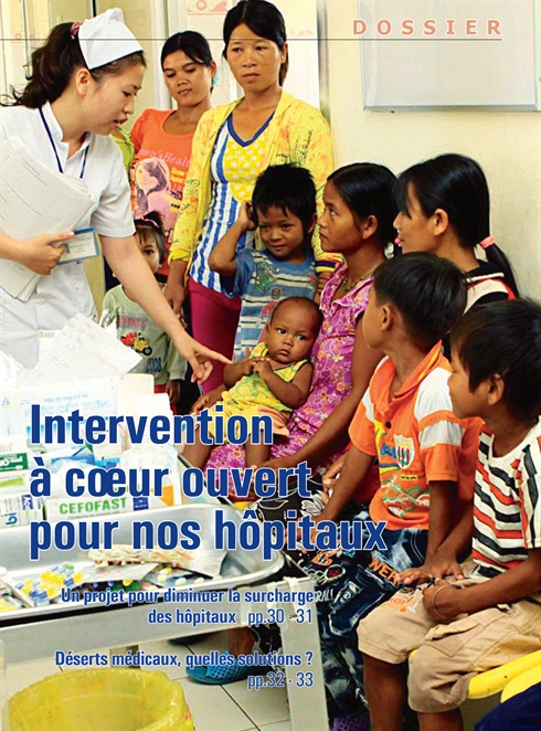 Un projet pour diminuer la surcharge des hôpitaux