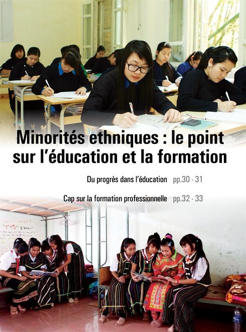 Du progrès dans l'éducation des minorités ethniques