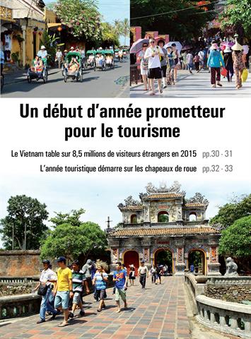 Le Vietnam table sur 8,5 millions de visiteurs étrangers en 2015