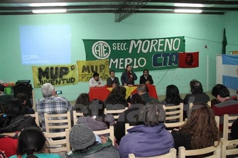 La conversation «Le Vietnam, hier et aujourdhui», 10 octobre à Buenos Aires.   Photo: Vietnamplus/CVN