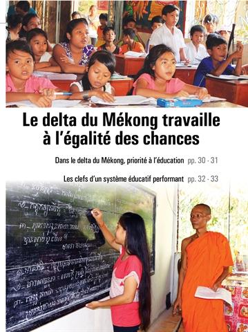 Dans le delta du Mékong, priorité à l'éducation