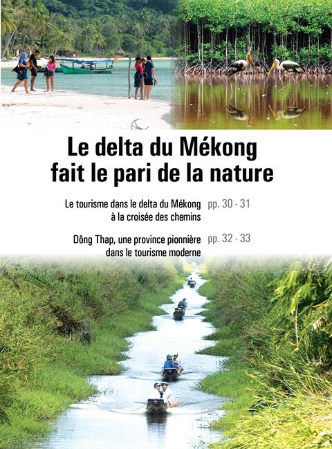 Le tourisme dans le delta du Mékong à la croisée des chemins