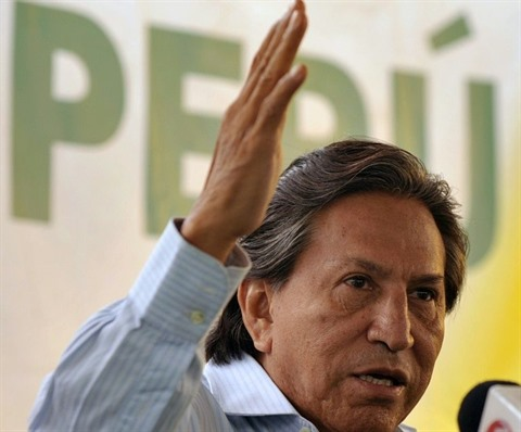 L'ex-président péruvien Alejandro Toledo, le 8 avril 2011 à Lima.   Photo : AFP/VNA/CVN