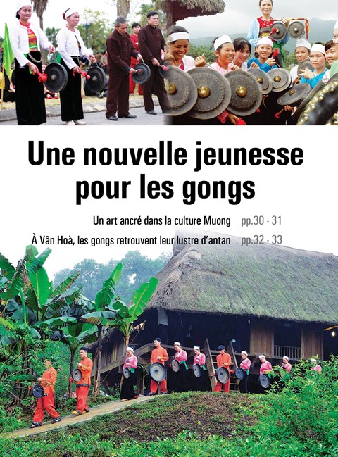 Les gongs, un art ancré dans la culture Muong