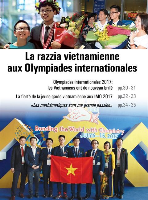 Olympiades internationales 2017 : les Vietnamiens ont de nouveau brillé
