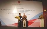 Une Viêt kiêu ambassadrice du tourisme du Vietnam pour la France